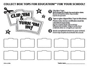 in an attempt to cut down on paper flyers that are sent home we ask that you please click on the documets below in order to print your boxtop collection - School Papers To Print